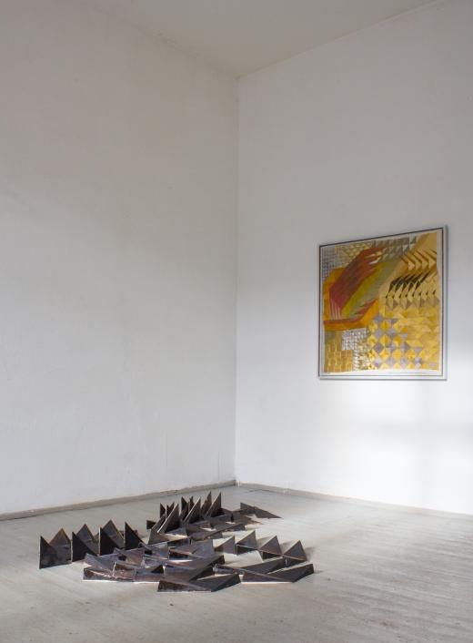 Austellungsansicht: Points on a Compass, 2015 / B I shop, Dresden